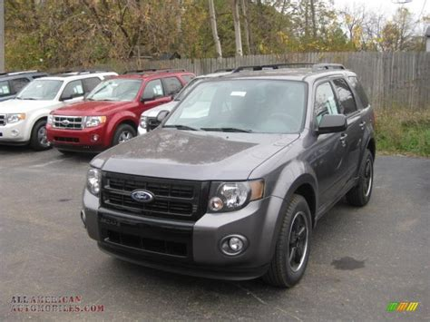 ford escape grey 2011 ford escape xlt sport 4wd in sterling grey metallic