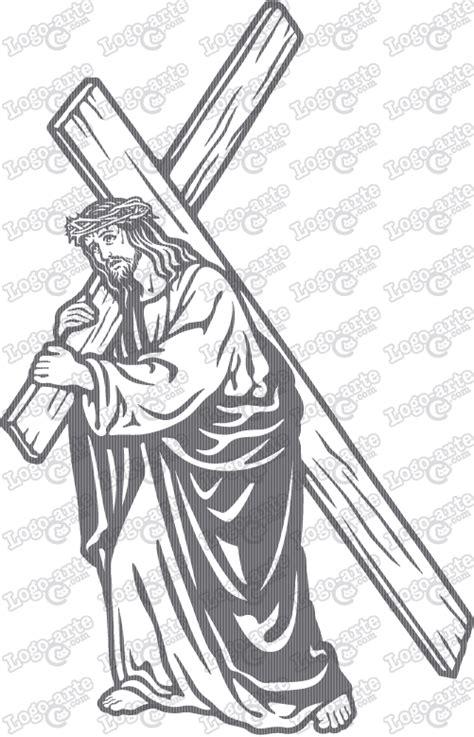 imagenes del via crucis en blanco y negro 7 170 estaci 243 n del via crucis actual vectorizada para corte