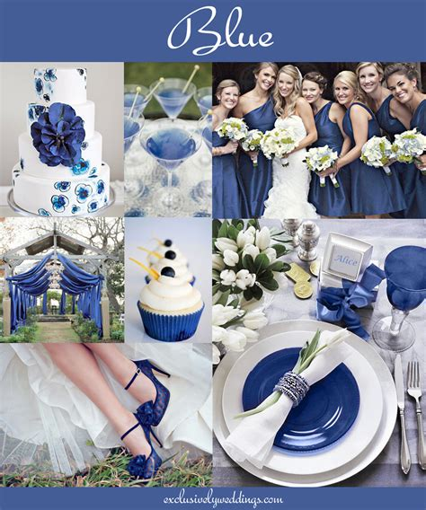 party themes with the color blue the 10 all time most popular wedding colors exclusively