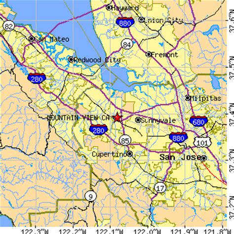 where is mountain view california on the map mountain view california ca population data races