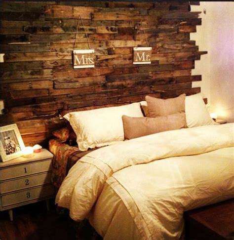 headboard made out of wooden pallets creative pallet headboard ideas wood pallet ideas
