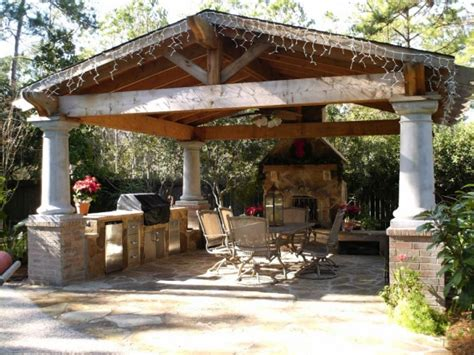 backyard patio designs with fireplace outdoor room design ideas for any budget landscaping