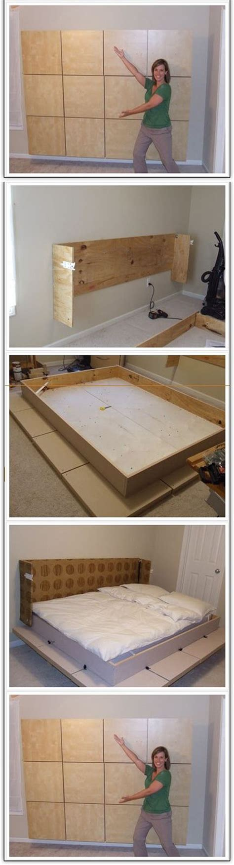 How To Build A Murphy Bed In A Closet by Build A Murphy Bed In Your Apartment Best Diy Ideas