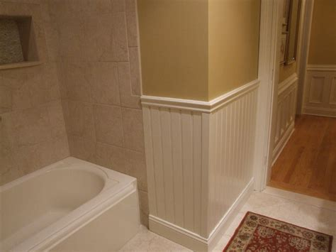 bathroom moulding guest bathroom trim details traditional bathroom new