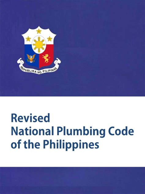 Canadian Plumbing Code by Plumbing Code Of The Philippines Pdf