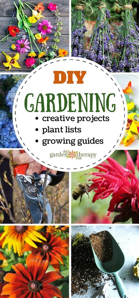 garden projects garden therapy