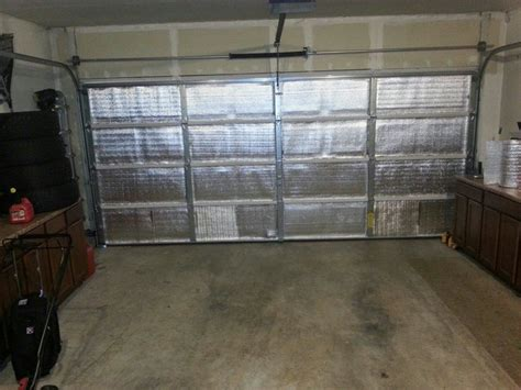 Garage Door Radiant Barrier Radiant Barrier Called Sol Blanket Insulation In The