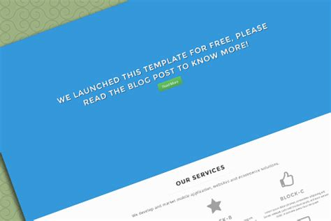 one page html template 13 free one page html css templates part2 allxnet