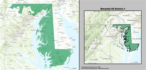 maryland map congressional districts maryland s 1st congressional district