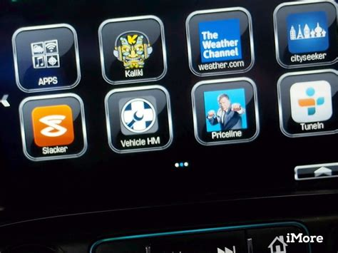 chevrolet appshop chevy s appshop skips the smartphone for in vehicle apps