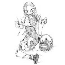 top 25 nightmare before christmas coloring pages for