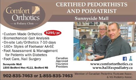 comfort orthotics sunnyside mall comfort orthotics podiatry clinic horaire d ouverture