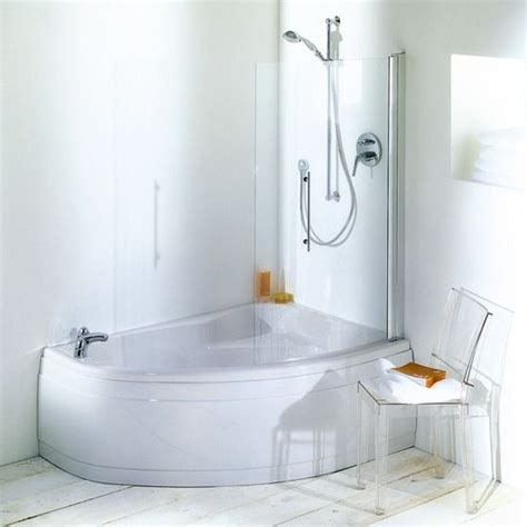 small corner bath with shower screen 42 best images about bathroom tub shower ideas on