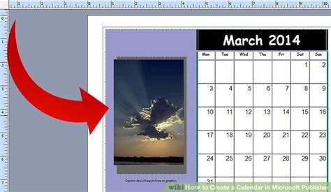 design calendar microsoft publisher how to create a calendar in microsoft publisher 4 steps