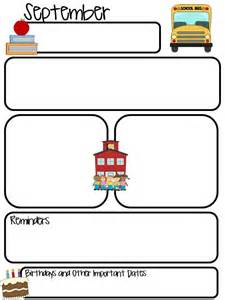 monthly newsletter template for teachers 17 best ideas about kindergarten newsletter on