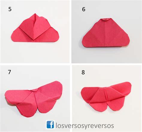 tutorial origami paso a paso mariposas de origami con videotutorial los versos y