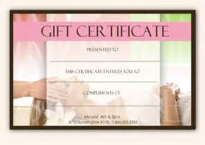 Editable Gift Certificate Template Free by Best Photos Of Editable Gift Certificate Templates