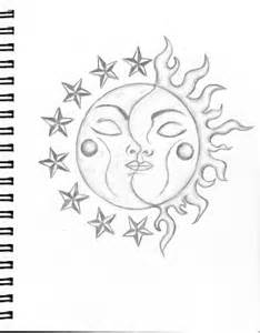doodle sun meaning sun and moon drawings search moon