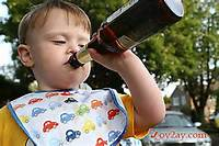Collection Of Funny Pictures Children Looking Drunk Or Trying To