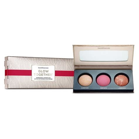 Bare Minerals Makeup Lift And Glow Set With Pouch Original bare minerals glow together u