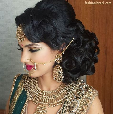 bridal hairstyles hindu traditional indian bridal hairstyles www pixshark com