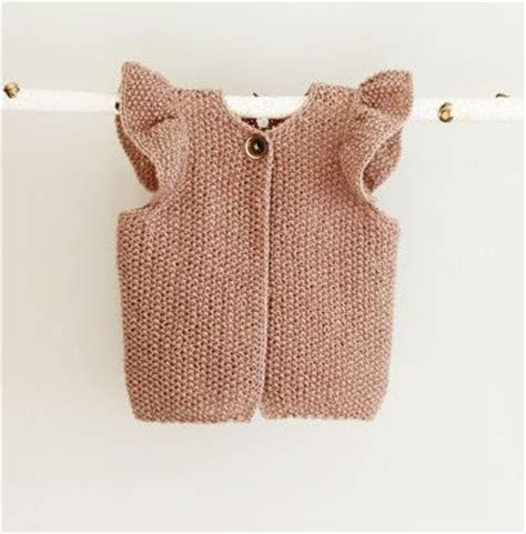 baby knitted vest best 25 baby vest ideas on knit baby dress