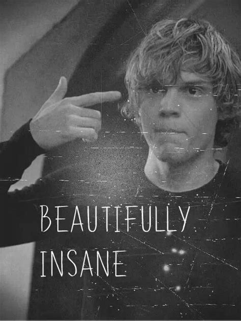 american horror story quote americanhorrorstory quote black and white quotes tate langdon american horror