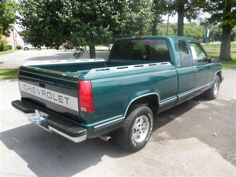 1995 chevrolet c1500 sell used 1995 chevrolet c1500 silverado extended cab