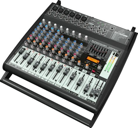 Power Mixer Behringer 4 Channel behringer pmp500 europower 12 channel powered mixer 500
