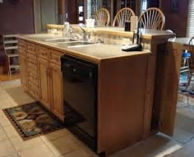 Kitchen Island With Sink And Dishwasher Kitchen Island W Sink Dishwasher Condo Remodel
