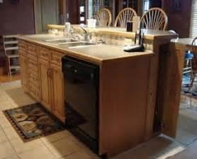 Kitchen island w sink amp dishwasher condo remodel pinterest