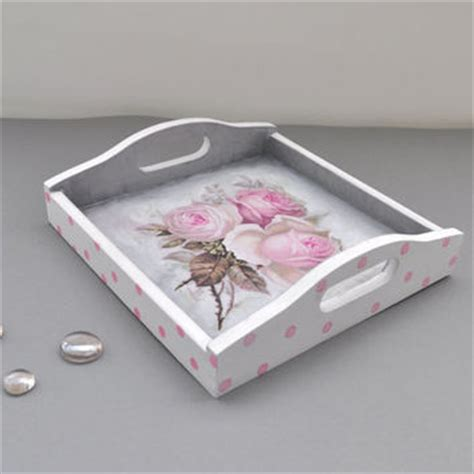 shop shabby chic tray on wanelo