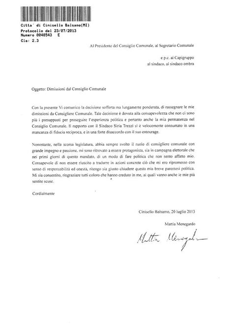 modello lettere dimissioni lettera di dimissioni volontarie modello fac simile