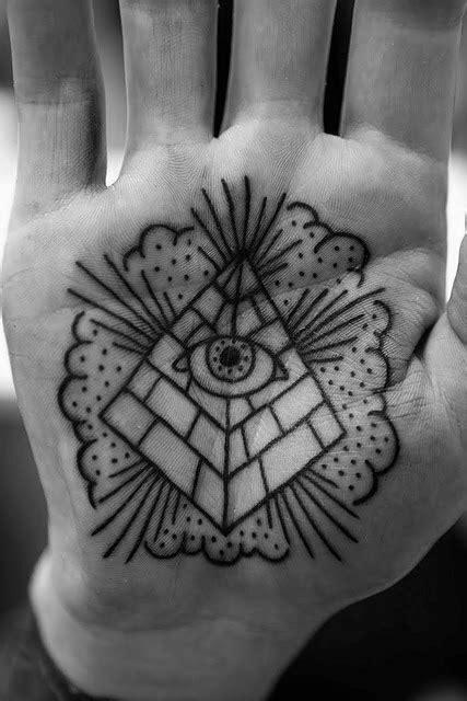eye tattoo palm hand 50 traditional eye tattoo designs for men old school ideas