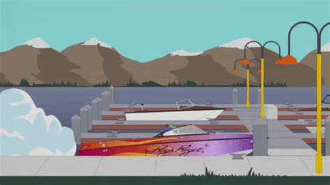 fast boat gif boat lake gif by south park find share on giphy
