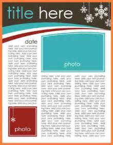 Free Newsletter Templates Downloads For Word 8 microsoft word newsletter template free