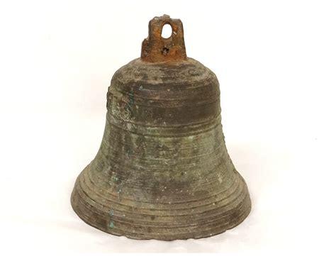 Crossover Bell bronze antique brass bell chapel cross bell xvii 1699