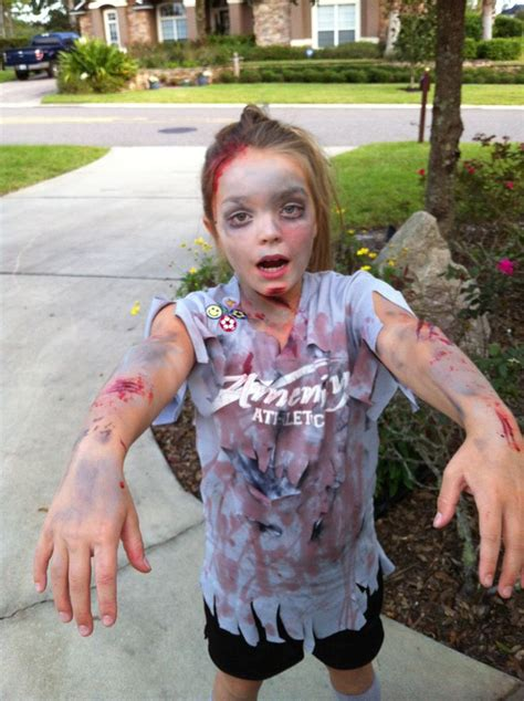 zombie soccer player baby girl halloween costumes