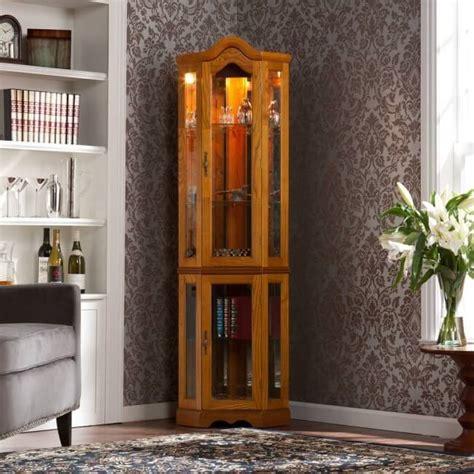 Corner Kitchen Curio Cabinet by Top 10 Best Corner Curio Cabinets 2016 Home Stratosphere