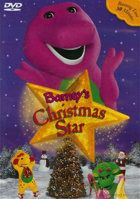 barney christmas star dvd dvd empire