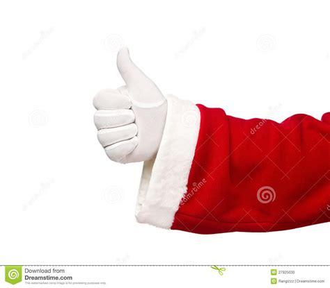 santa claus thumbs up santa claus showing thumbs up stock photo image 27925030