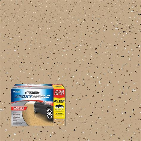 Rust Oleum EpoxyShield 240 oz. Tan High Gloss 2.5 Car