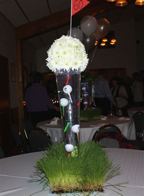 centerpieces surprise 70th birthday party pinterest