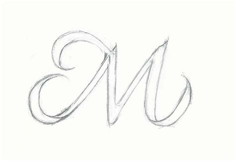 M Drawing Images by Letter M Outline Cliparts Co