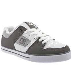 Sepatu Dc Slim Xe Black Brown skate shoe white