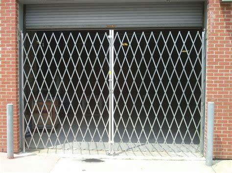 Garage Door Gate Scissor Security Gates Overhead Garage Doors By Doorways Inc