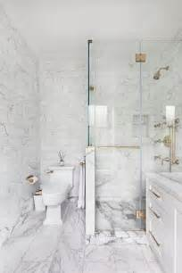 White Marble Bathrooms by White Marble Bathroom Bathroom Design Ideas
