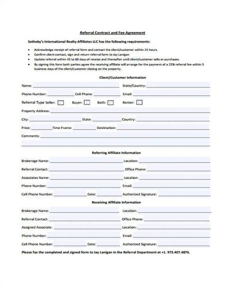 business referral agreement best resumes