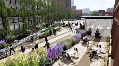 Landscape Structures Dallas Tx Portfolio Factory Six03 Market Plaza Mesa Landscape