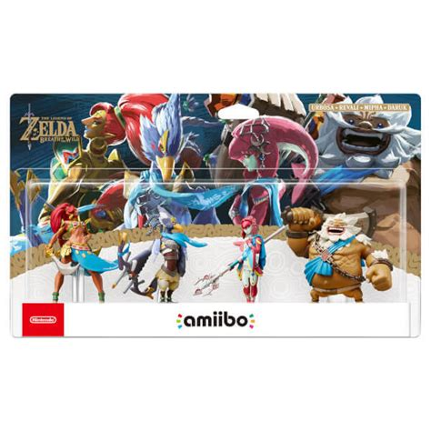 Promo Amiibo Daruk The Legend Of Breath Of The nintendo uk store the chions amiibo set breath of the collection available